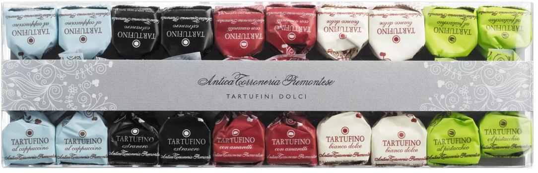 ANTICA TORRONERIA PIEMONTESE | Mini-Schokoladentrüffel »Tartufini Dolci« 140g