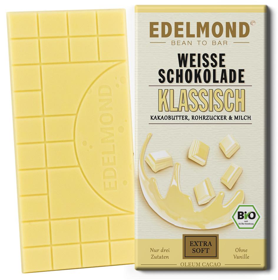 EDELMOND   Weiße Schokolade »Klassisch« 40%   BIO