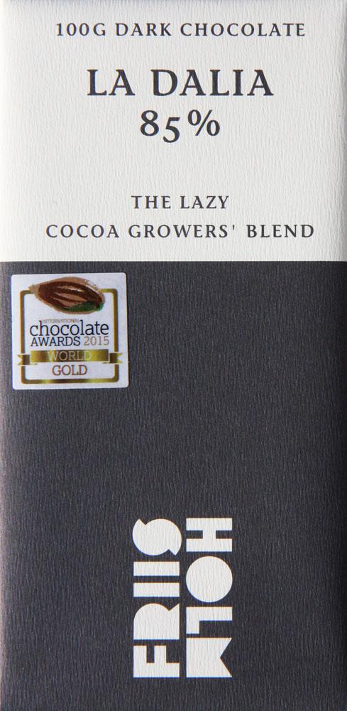 FRIIS-HOLM   Schokolade »La Dalia« Nicaragua 85%