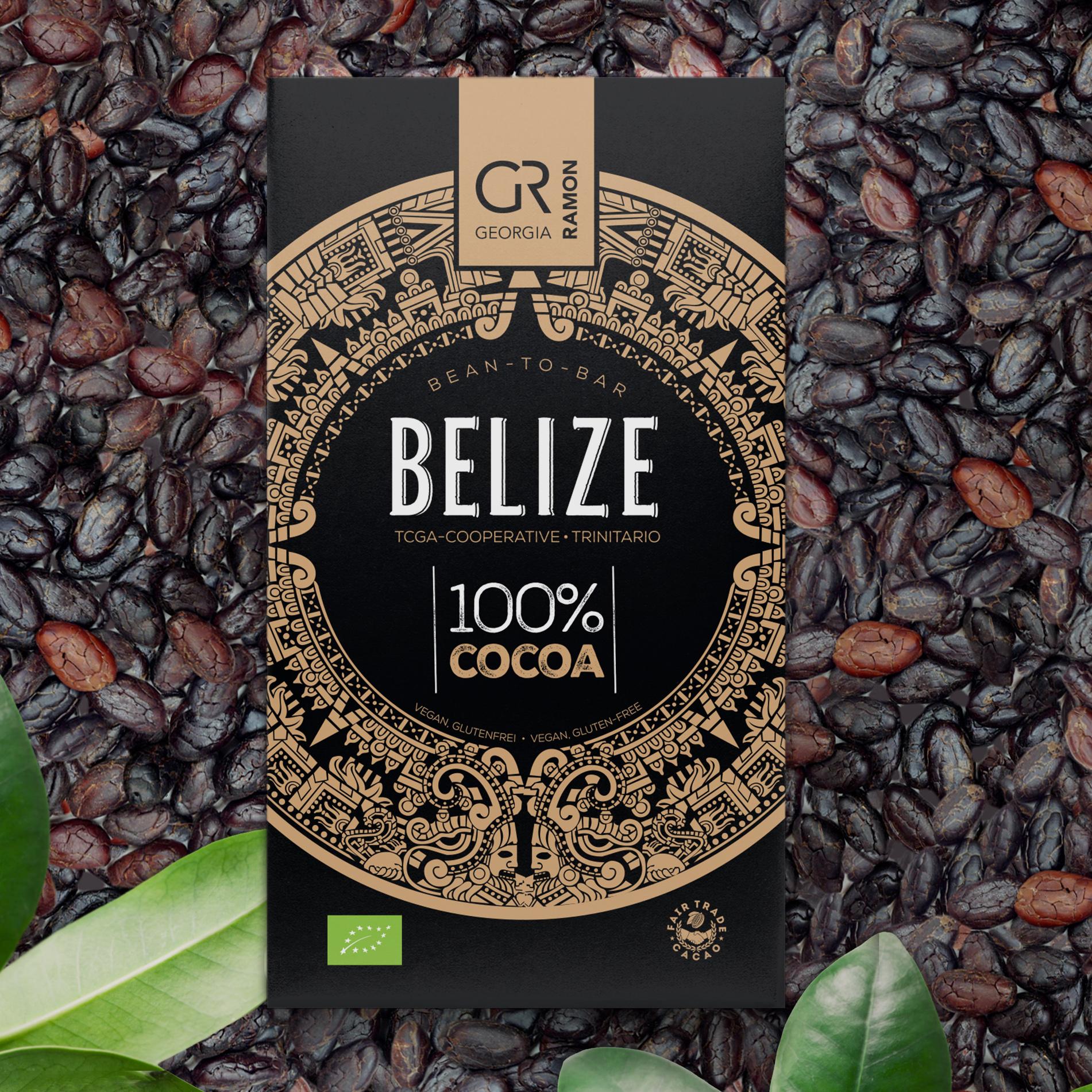 GEORGIA RAMON Schokoladen | »Belize« Kakaomasse 100% | BIO