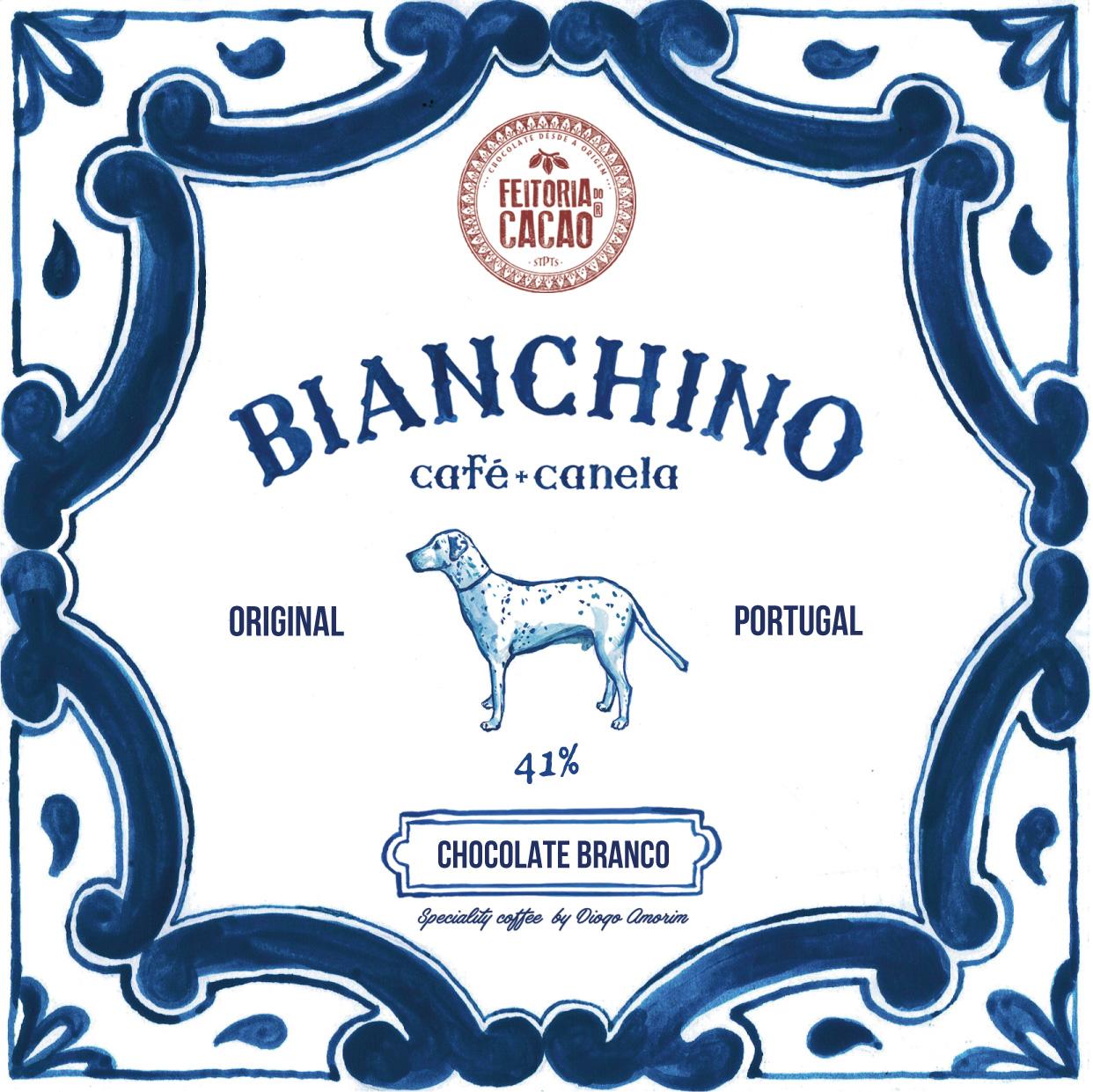FEITORIA DO CACAO   Weiße Schokolade »Brianchino« 41%