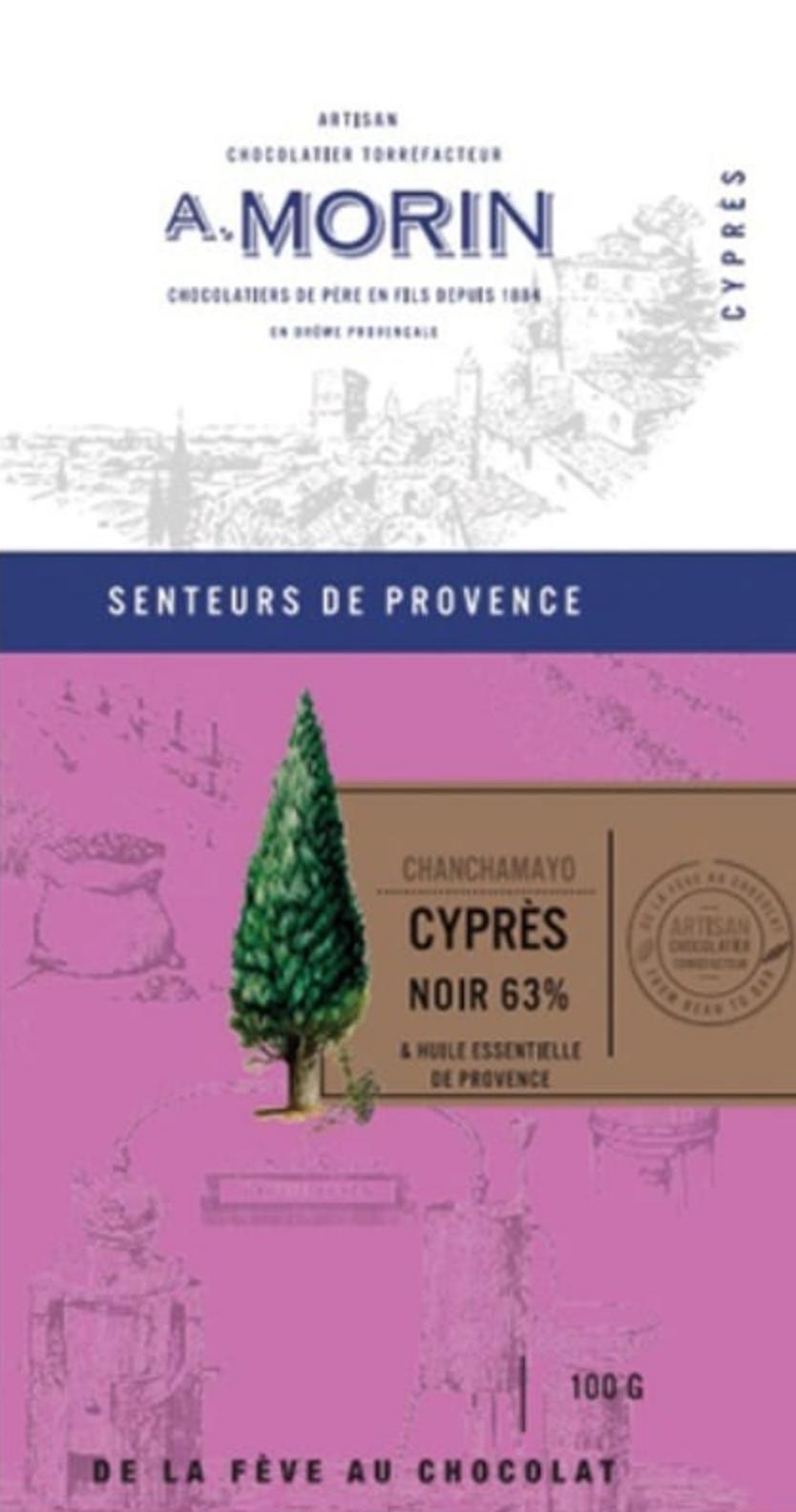 A. MORIN | Schokolade Chanchamayo »Cypres« 63%