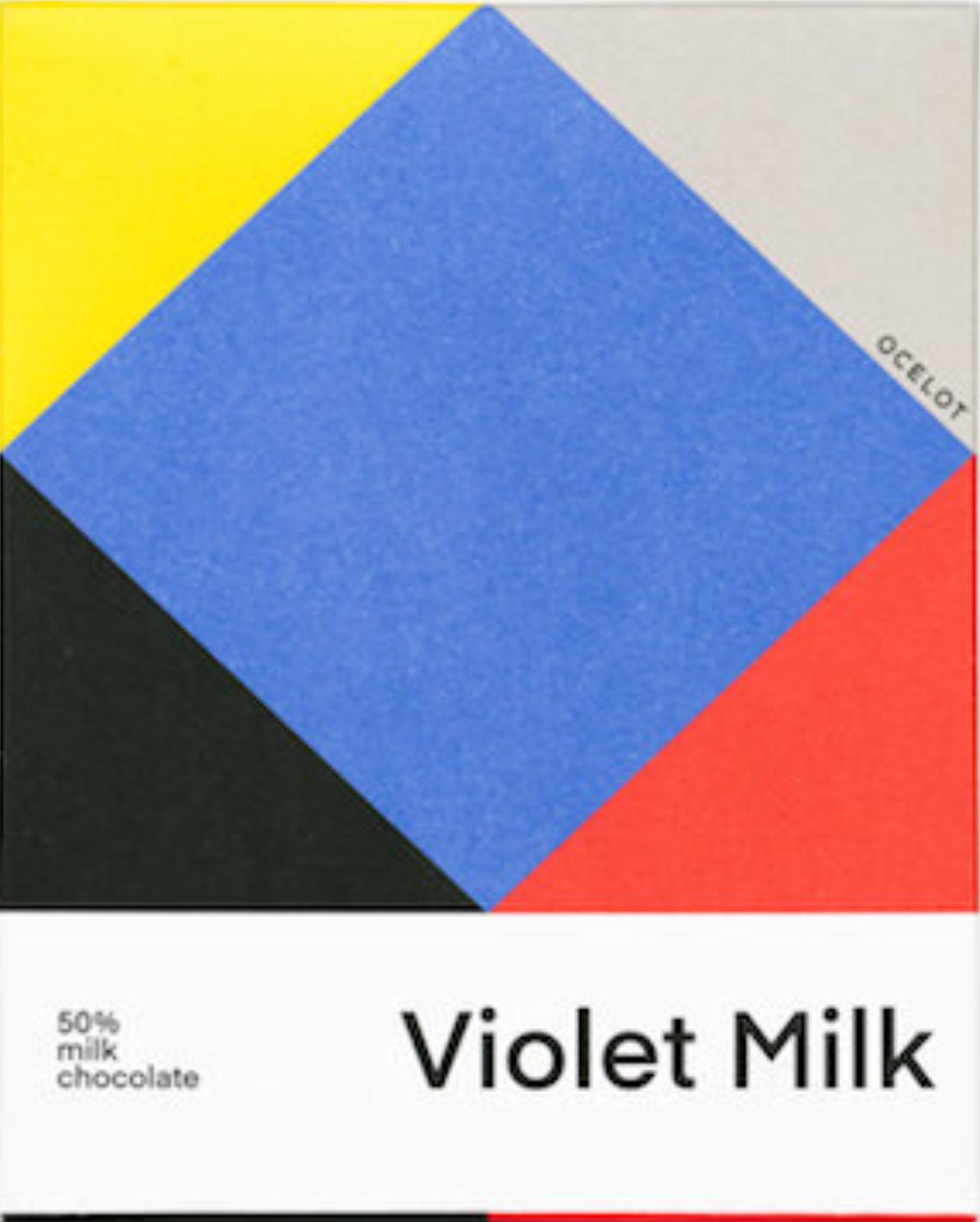 OCELOT | Milchschokolade »Violet Milk« 50% | BIO - MHD 9.12.2021