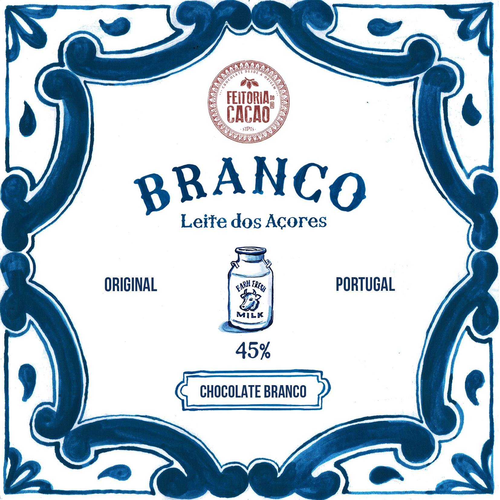 FEITORIA DO CACAO   Weiße Schokolade »Branco« 45%