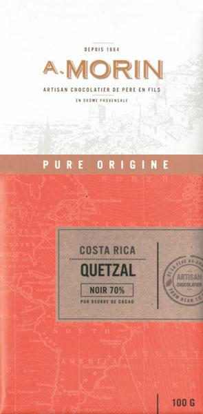 A. MORIN | Schokolade »Quetzal« Costa Rica 70%