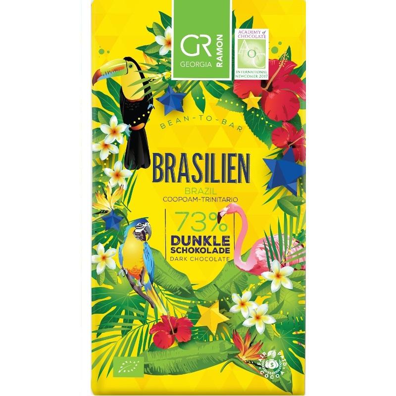 GEORGIA RAMON | Dunkle Schokolade »Brasilien« 73% | BIO