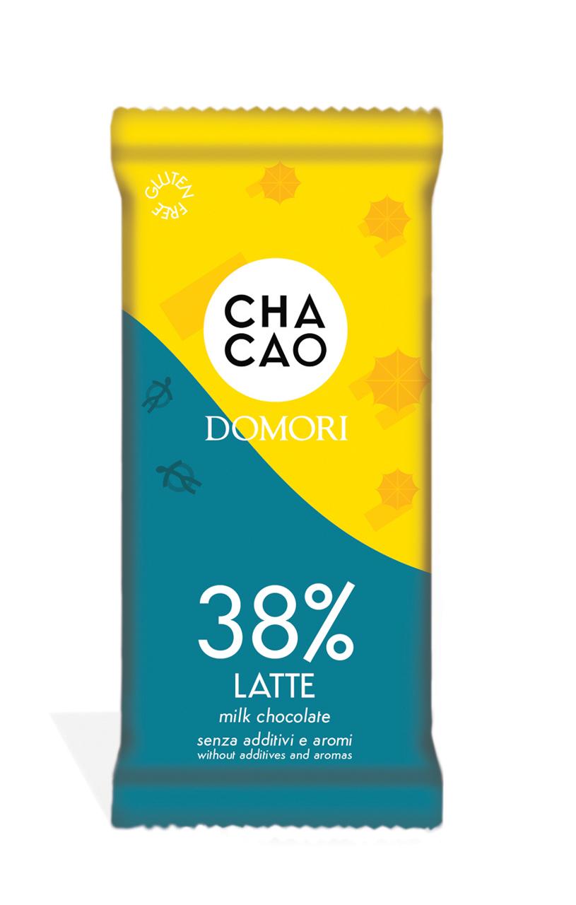 CHACAO by Domori   Milchschokolade »Latte« 38% 50g