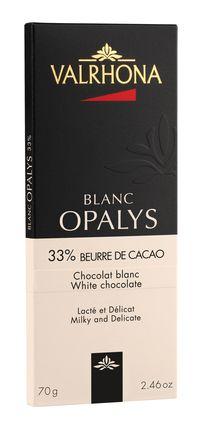 VALRHONA | Weisse Schokolade »Opalys« 33%