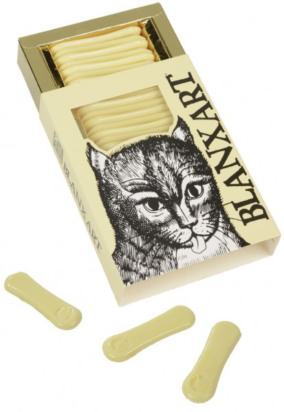 BLANXART   Weiße Schokolade »Katzenzungen«