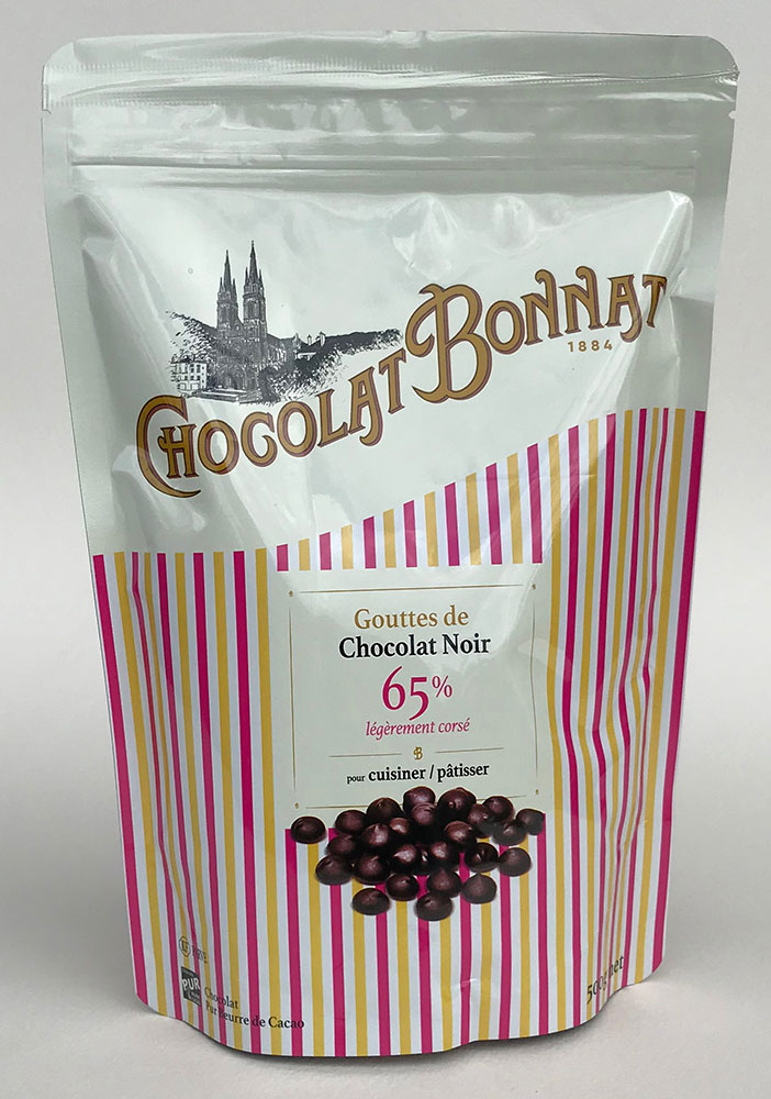 BONNAT Schokoladentropfen »Chocolat Noir« 65% 500g