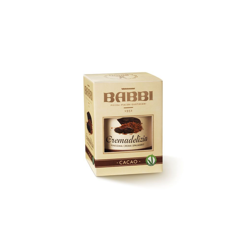BABBI   Haselnusscreme »Cremadelizia Cacao« 300g