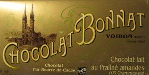 BONNAT Milchschokolade   mit Praliné & Mandeln »Praliné amandes«