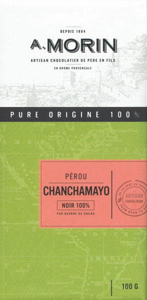 A. MORIN Schokoladen |  Peru »Chanchamayo« 100%