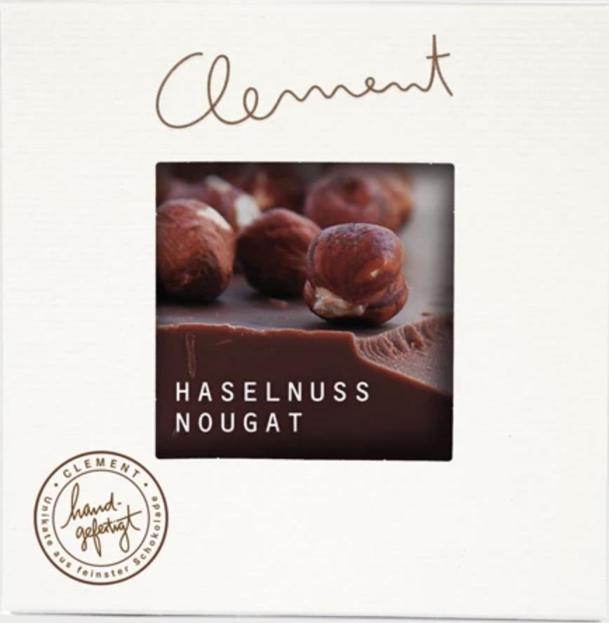 CLEMENT    Schokolade mit »Haselnuss Nougat« 60%