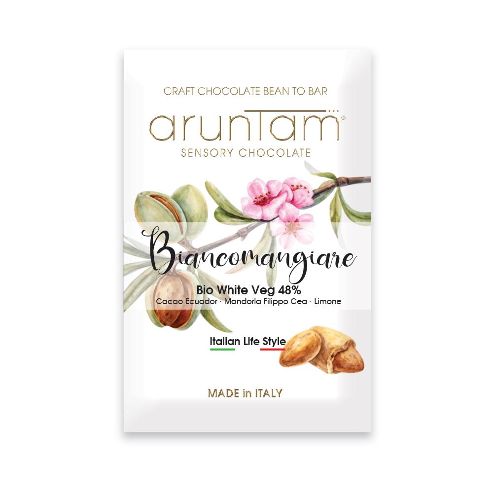 ARUNTAM Weiße Schokolade »Biancomangiare« 48%