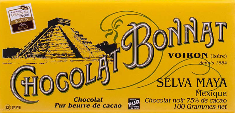 BONNAT Dunkle Schokolade | Chocolat »Selva Maya« Mexique 75%