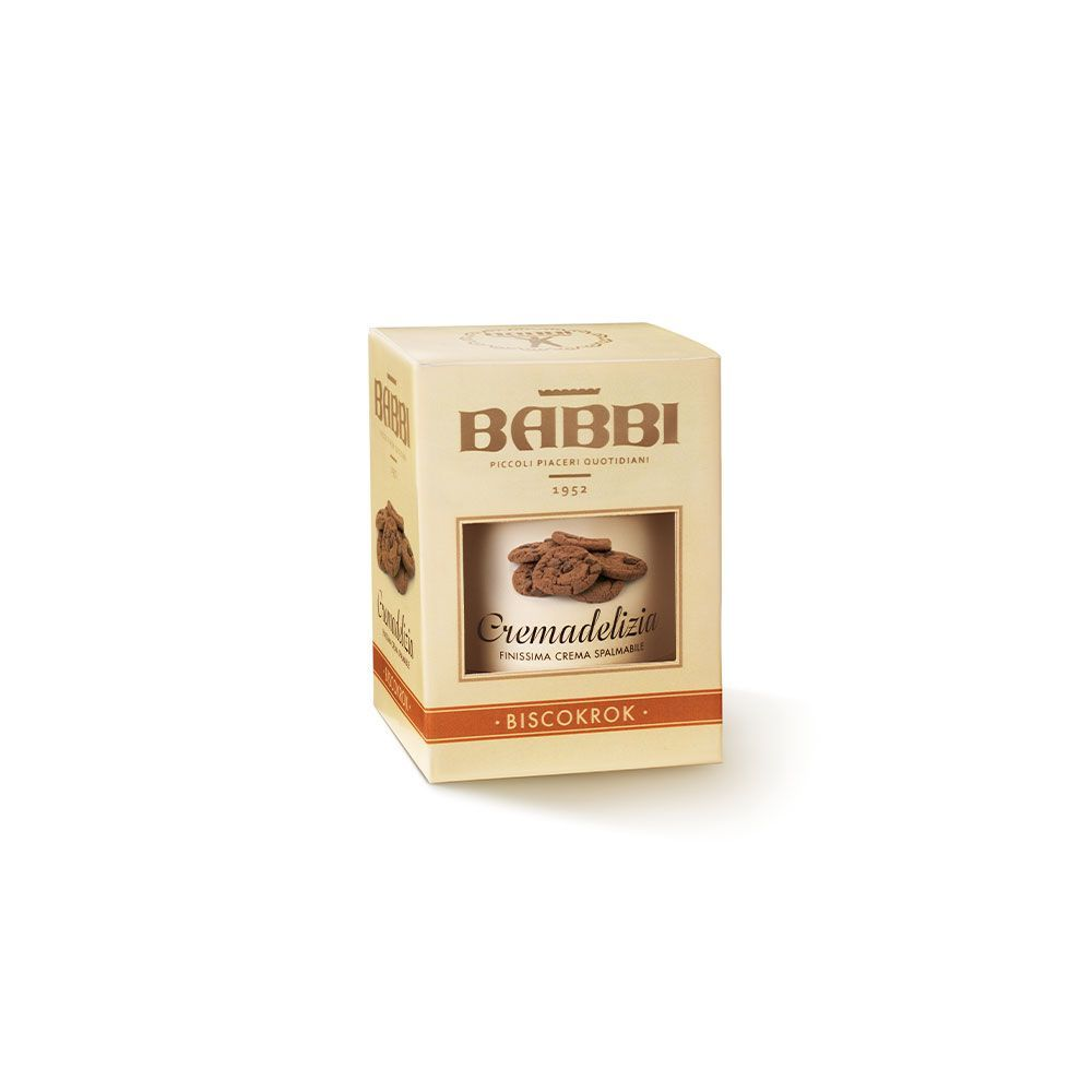 BABBI   Nusscreme »Cremadelizia Biscokrok« 300g