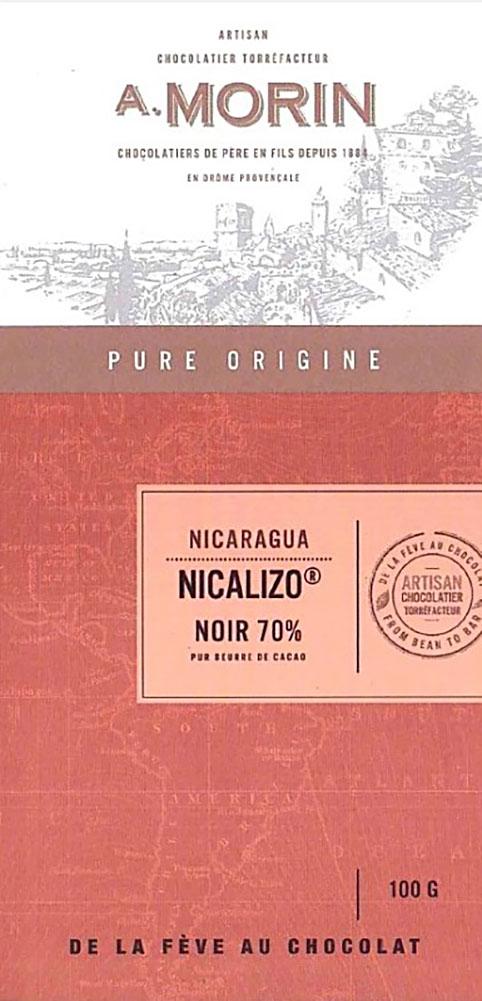 A. MORIN | Schokolade »Nicalizo« Nicaragua 70%