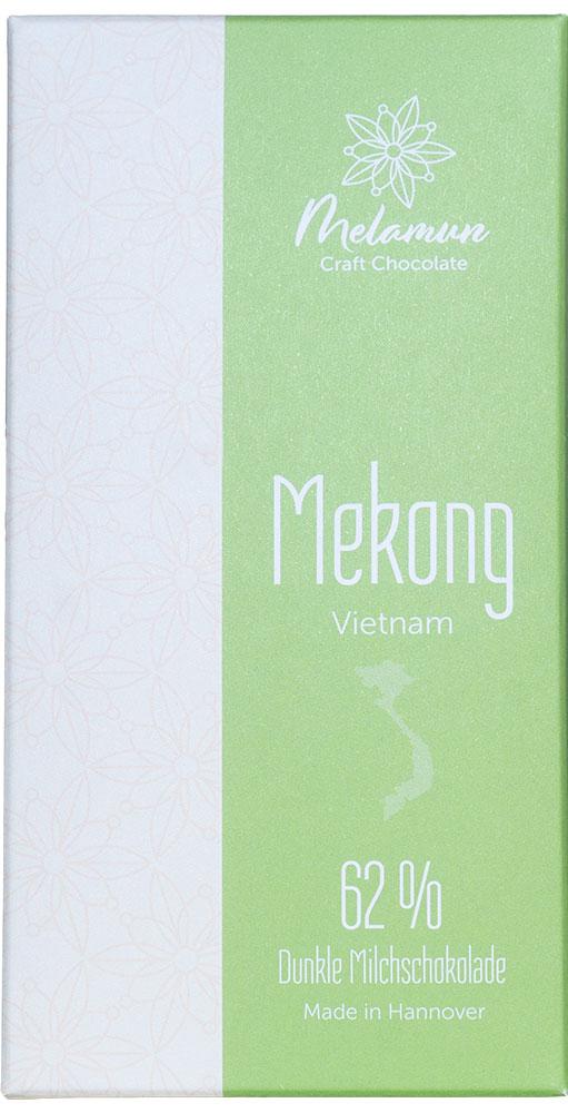 MELAMUN | Milchschokolade »Mekong  - Vietnam« 62%