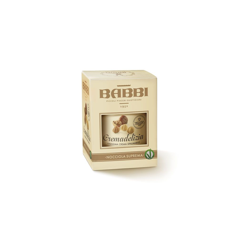 BABBI   Haselnusscreme »Cremadelizia Nocciola Suprema« 43% 300g