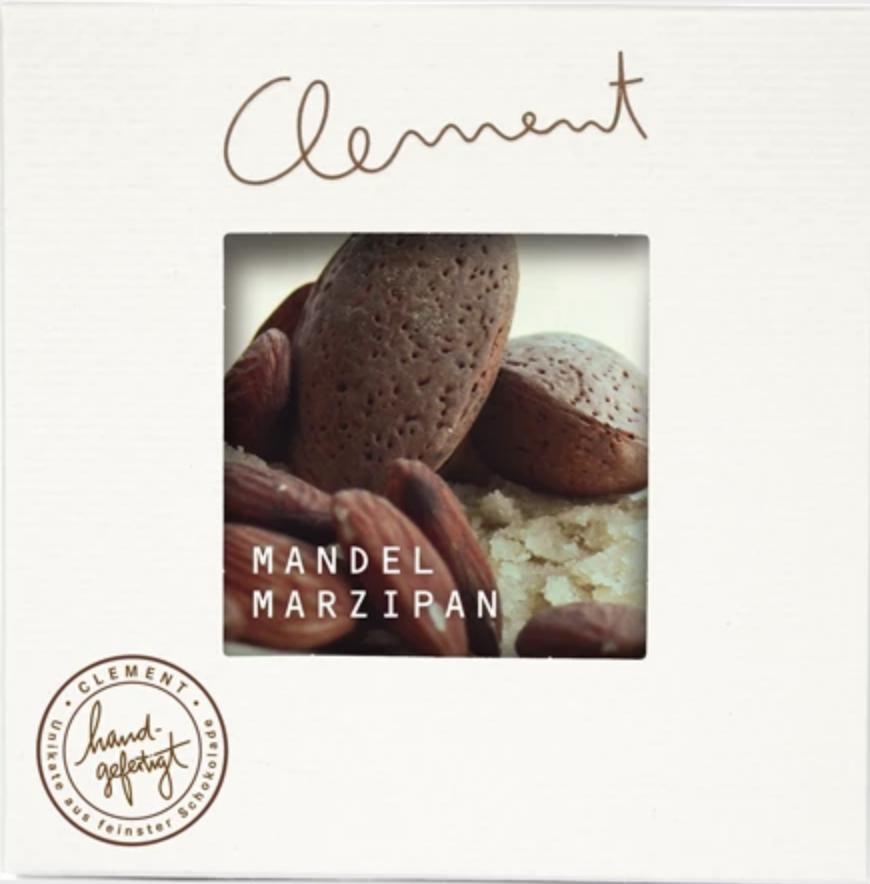 CLEMENT    Zartbitterschokolade mit »Mandel-Marzipan« 60%
