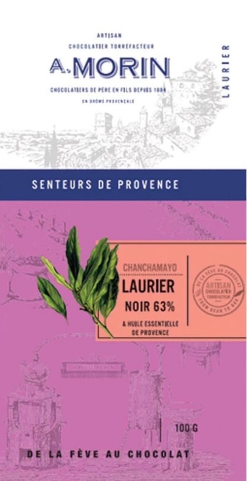 A. MORIN   Schokolade & Lorbeer Chanchamayo »Laurier« 63%