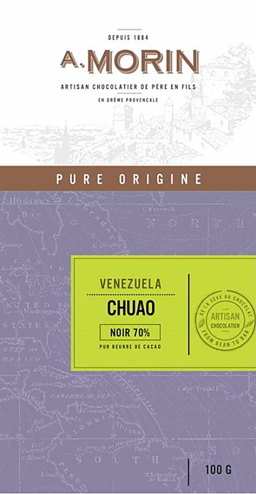 A. MORIN | Schokolade »Chuao« Venezuela 70%