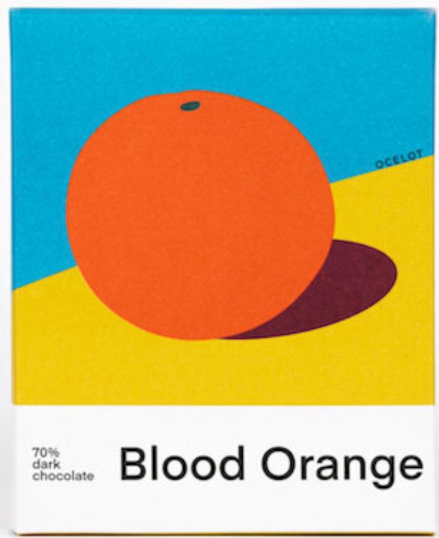 OCELOT | Dunkle Schokolade & Orange »Blood Orange« 70% | BIO | MHD 07.12.2021