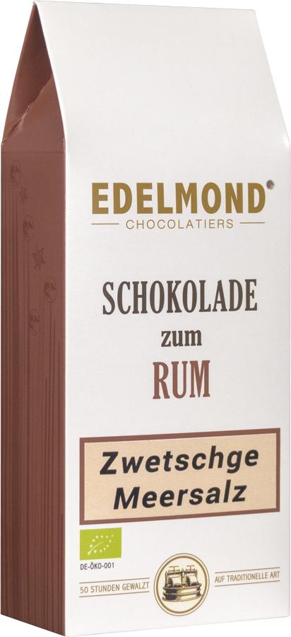 EDELMOND | Zwetschke & Meersalz »Schokolade zum Rotwein« 60% | BIO Kopie