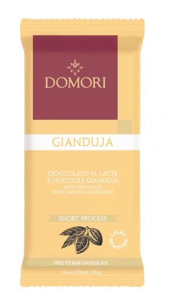 DOMORI   Milchschokolade & Haselnüsse »Gianduja« 32%