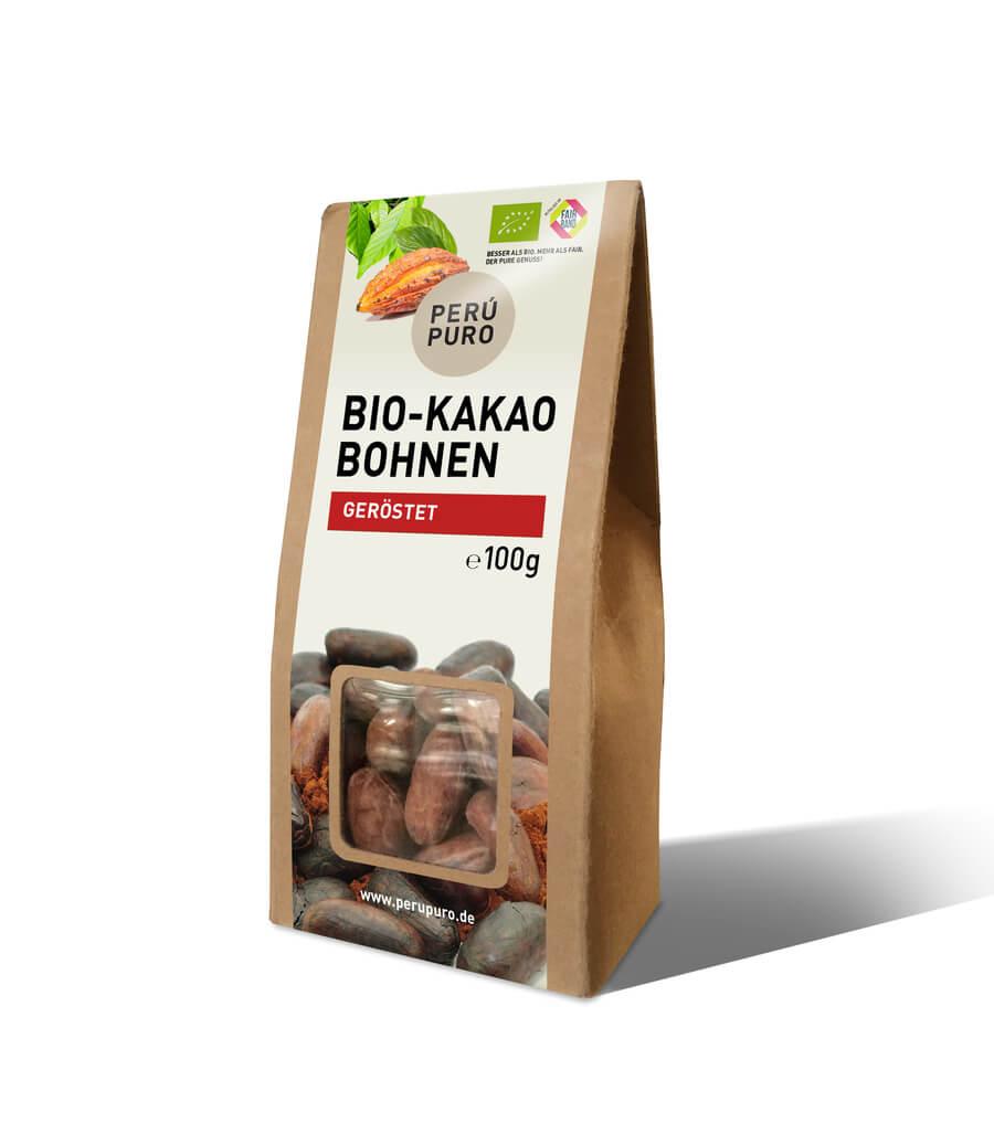 PERÙ PURO | geröstete Kakaobohnen »Peru« | BIO
