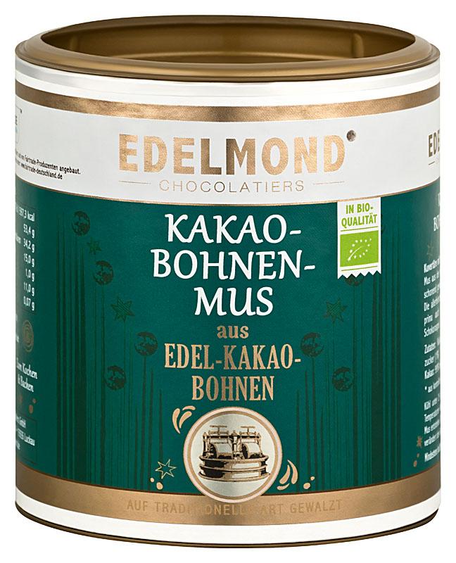 EDELMOND  »Kakaobohnenmus« aus Edelkakaobohnen   BIO