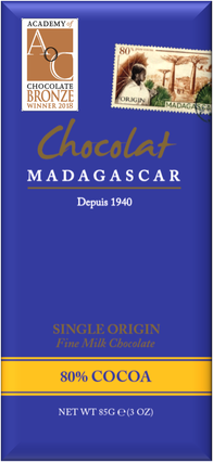 Chocolat MADAGASCAR   Milchschokolade »Madagascar« 80%