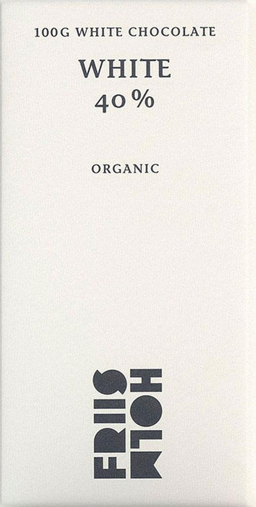 FRIIS-HOLM   Weiße Schokolade »White« 40%