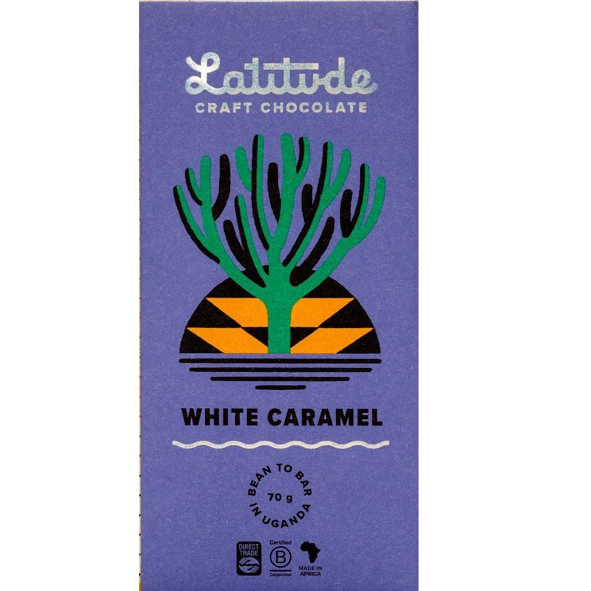 LATITUDE   Weiße Schokolade »White Caramel« 40%