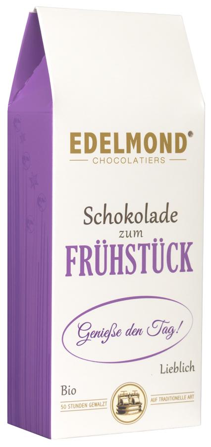 EDELMOND | Schokoladendrops »Zum Frühstück« 50% | 60% | 35% | BIO