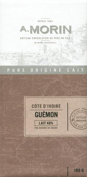 A. MORIN   Milchschokolade »Guemon« 48%