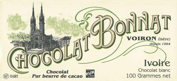 BONNAT Weiße Schokolade   Chocolat »Ivoire« blanc