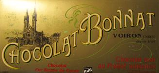 BONNAT Dunkle Schokolade   mit Praline & Haselnuss »Noir au Praliné noisettes«