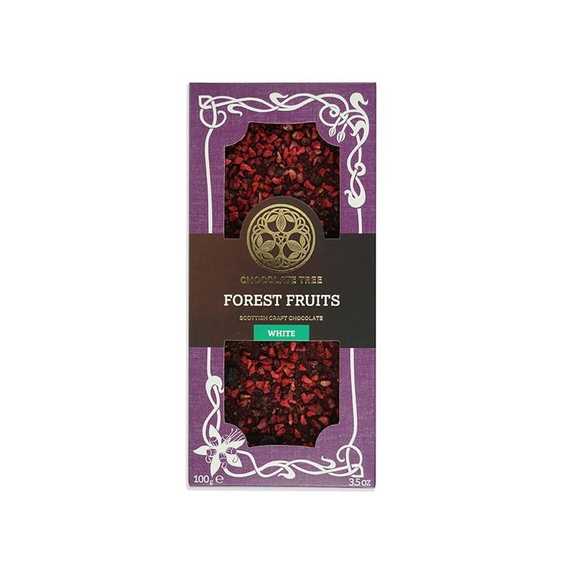CHOCOLATE TREE   Weiße Schokolade »Forest Fruit« 40%