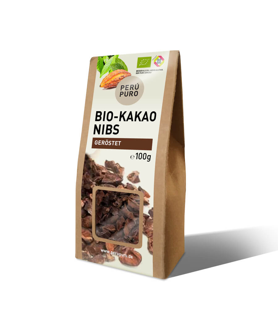 PERÙ PURO | geröstete Kakaonibs »Peru«