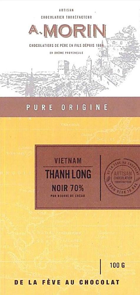 A. MORIN | Schokolade »Thanh Long« Vietnam 70%
